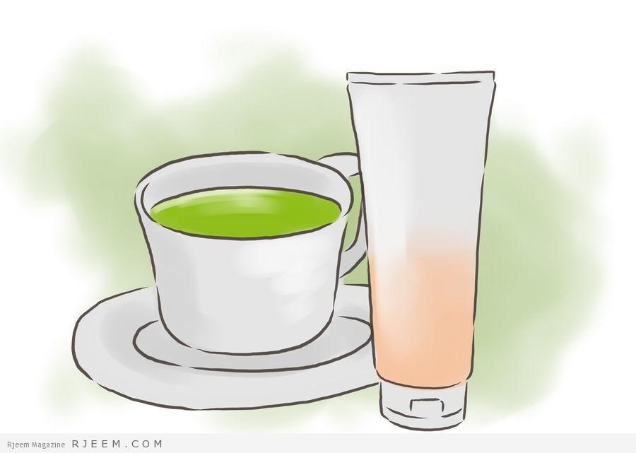 الشاي الأخضر للبشرة مجلة رجيم