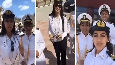 Photo of من داخل الأكاديمية البحرية المصرية.. شاهد: سارة آل سعود أول قبطان بحري في المملكة!