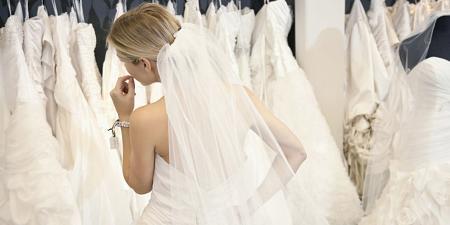 البساطة والرقة هي شعار فستان الزفاف