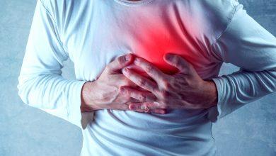 اعراض القلب عند الشباب