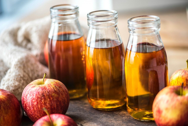 خل التفاح لفرد الشعر
