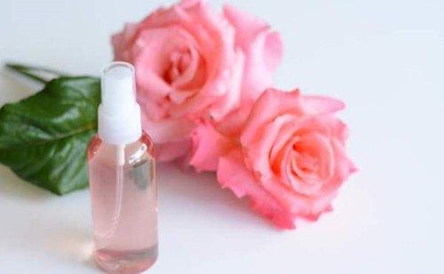 فوائد ماء الورد للبشرة الدهنية قبل النوم مجلة رجيم