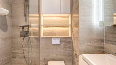ديكورات حمامات صغيرة و بسيطة .