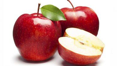 فوائد التفاح على الريق .
