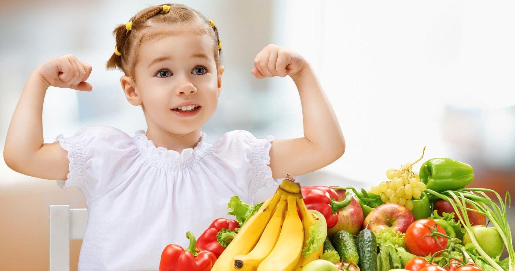 أغذية لتعزيز مناعة الأطفال