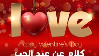 بمناسبة عيد الحب أفضل العبارات الرقيقة الرومانسية مع الصور المميزة