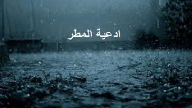 Photo of أفضل الأدعية وقت المطر والشتاء