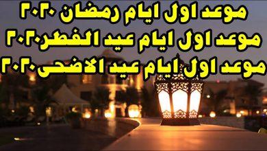 رمضان والعيد 2020