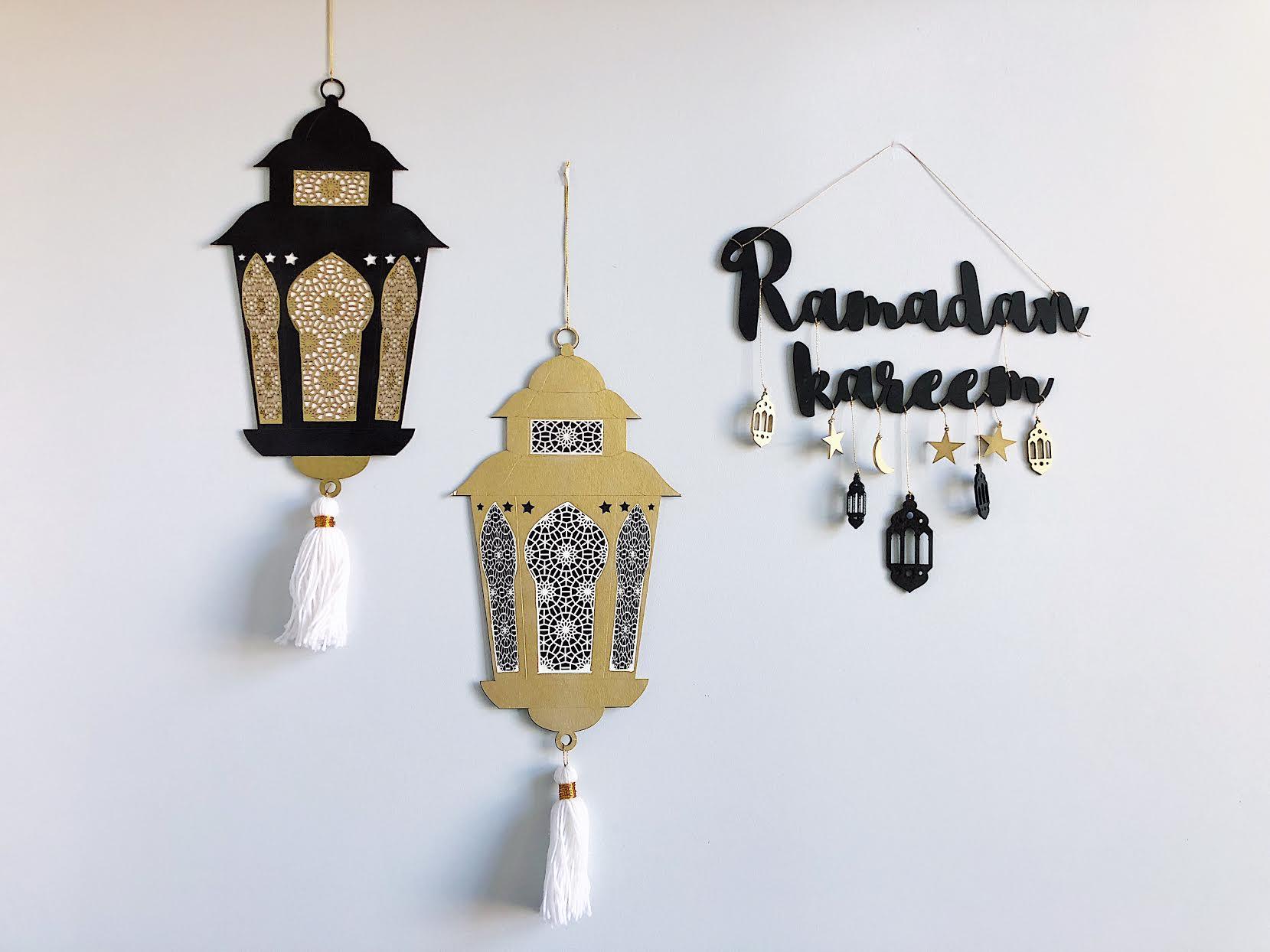 ديكورات اقتصادية لشهر رمضان