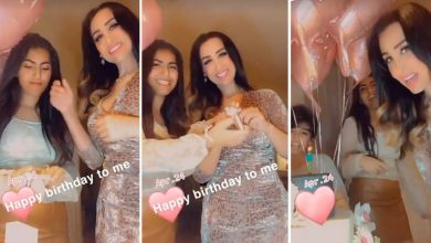Photo of بالفيديو: هند القحطاني تحتفل بعيد ميلادها بطريقتها الخاصة