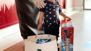 "Photo of "" ليث "" الطفل الذي هزم فيروس كورونا المستجد في نجران"