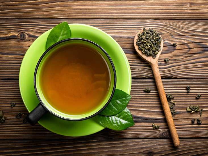 هل الشاي الأخضر يسبب الجوع