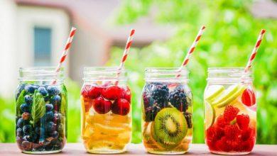 مشروبات تنحيف منعشه و فعالة