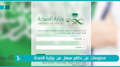 متابعة معاملات وزارة الصحة