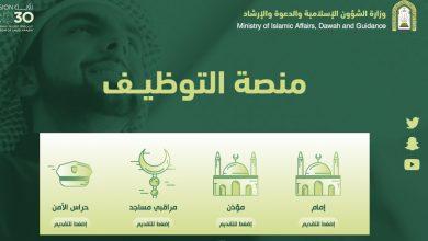 وظائف وزارة الشؤون الإسلامية والدعوة والإرشاد 1442
