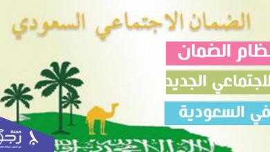 نظام الضمان الاجتماعي الجديد في السعودية