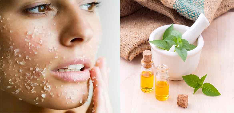 وصفات لتقشير الجلد الميت