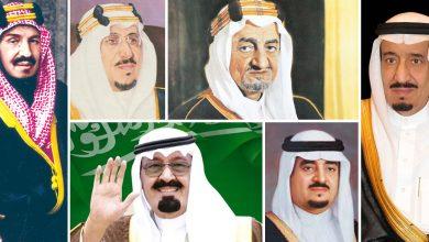 موضوع تعبير عن التسلسل الزمني لتاريخ المملكة السعودية الحديث