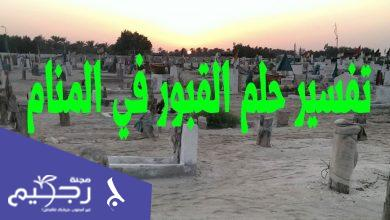 رؤية القبر في المنام
