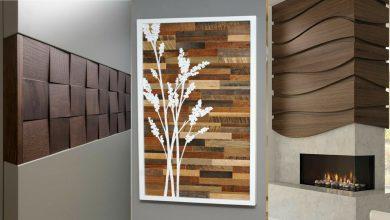 ديكورات خشبية للجدران 2021