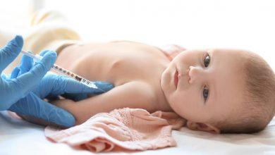 حجز موعد تطعيم الأطفال