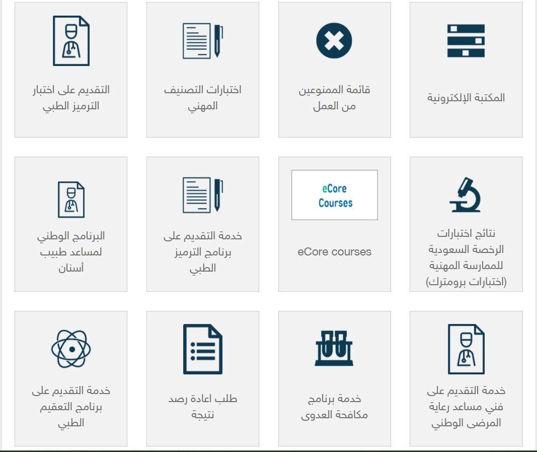 مواعيد اختبار الهيئة السعودية للتخصصات الصحية وخطوات التسجيل بها 2021